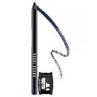 We used Bobbi Brown Long-Wear Eye Pencil in 'Black Navy'. http://www.bobbibrown.com.au/product/2331/20495/Makeup/Eyes/Long-Wear/Long-Wear-Eye-Pencil/Best-Seller/index.tmpl#