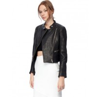 Nicholas Leather Moto Jacket, $695 http://www.theiconic.com.au/Leather-Moto-Jacket-139953.html