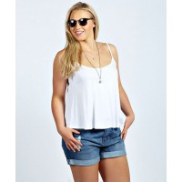 BooHoo Tina Turn Up Denim Shorts, $44 http://www.boohoo.com/aus/boohoo-plus/icat/new-in/tina-turn-up-denim-short/invt/pzz99807