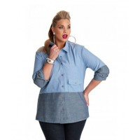 My Size Emme True Blue Denim Shirt, $99.95 http://www.mysize.com.au/mysize/emme-true-blue-denim-shirt.html