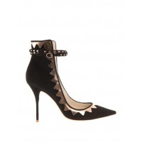 Sophia Webster Roka suede pumps, $755 http://www.matchesfashion.com/product/201199