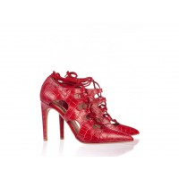 The Mode Collective Ox Blood Croc lace up point, $289 http://www.themodecollective.com/shoes-heels?product_id=281