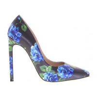 Tony Bianco Fabrique Blue/Green Flower Satin pump, $169.95 http://www.tonybianco.com.au/categories/heels/fabrique-46179.html
