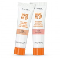 We used Rimmel London's Wake Me Up Instant Radiance Shimmer Touch in Flush of Pearl http://www.asos.com/au/Rimmel-London/Rimmel-London-Wake-Me-Up-Instant-Radiance-Shimmer-Touch/Prod/pgeproduct.aspx?iid=2566969