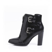 Alias Mae Alex ankle boot, $219.95 https://www.aliasmae.com/alex.html?color=Black%20Box%20Calf%20with%20Silver%20Buckles