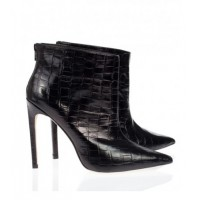 The Mode Collective Black Croc point ankle boot, $299 http://www.themodecollective.com/shoes-boots?product_id=286