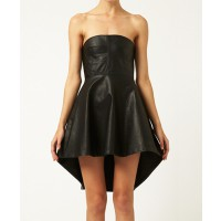 Shakuhachi Sculpted Leather Bustier Kick Dress $84.01 http://www.shakuhachi.net/new-arrivals/sculpted-leather-bustier-kick-dress