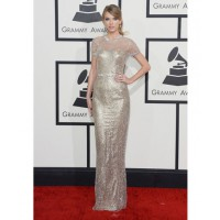 Taylor Swift in Gucci http://www.huffingtonpost.com/2014/01/26/grammys-red-carpet-2014-photos_n_4628162.html