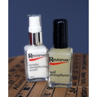 Revitanail® Keratin Strengthening Serum and Nail Strengthener both suit my ad hoc care routine