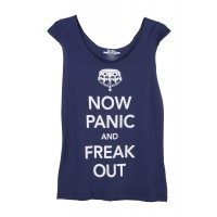 Now Panic and Freak Out Tee, Threadless, $29.95 http://www.birdsnest.com.au/brands/threadless/36313-now-panic-and-freak-out-tee-1#Navy