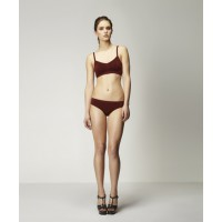 Valentin Seamless Bralet & Brief in Toffee