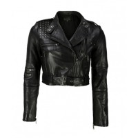 Viparo - $439 http://www.viparo.com.au/womens/leather-jackets/black-nz-studded-lambskin-leather-biker-studded-cropped-jacket-astrix.html