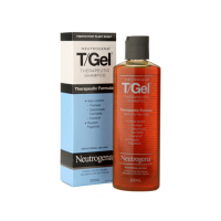T-gel shampoo contains coal tar to combat a flaky scalp. http://www.priceline.com.au/hair/hair-care/shampoo-and-conditioner/tgel-shampoo-200.0-ml