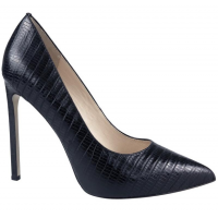 Saintly Black Lizard Print Leather, Wittner, $169.95 http://www.wittner.com.au/shoes/heels/saintly-black.html