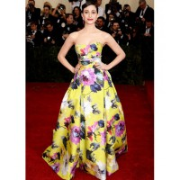 Emmy Rossum Carolina Herrera gown - http://www.whowhatwear.com/met-gala-ball-red-carpet-fashion-2014/slide43