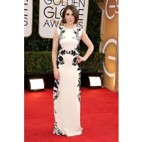 Zosia Mamet in Reem Acra http://www.huffingtonpost.com/2014/01/12/golden-globes-red-carpet-2014_n_4499470.html