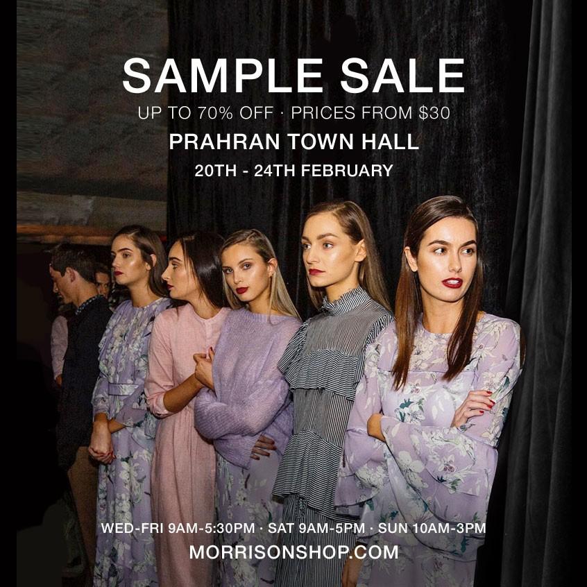 4359785c64f Morrison Warehouse Sample Sale - Sales   Deals