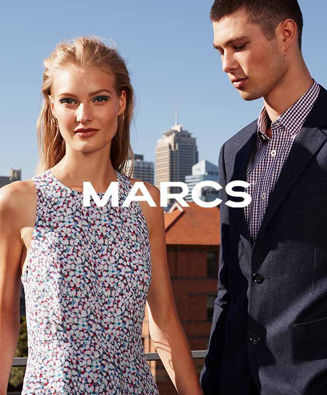 In , Marc Jacobs and his business partner, Robert Duffy, introduced their secondary collection, Marc by Marc Jacobs. It was established on the basis of providing a collection of comparatively affordable, edgy, and retro-inspired mass-market pieces.