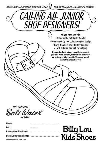 f19e53ebc Win a Pair of your Salt Water Sandals - Kids Competitions - Kids